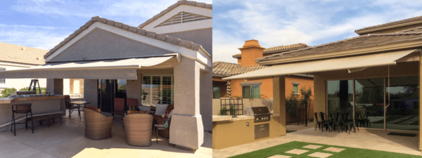 Retractable Tuscon Patio Awning Hill Country Near Me